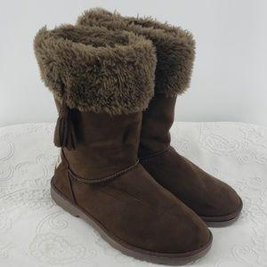 Makula Boots w/ Faux Fur